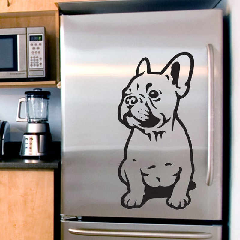 Franse Bulldog Muursticker Auto Bumper Sticker Fances Hond Vinyl Decals Home Decor muurstickers T180602