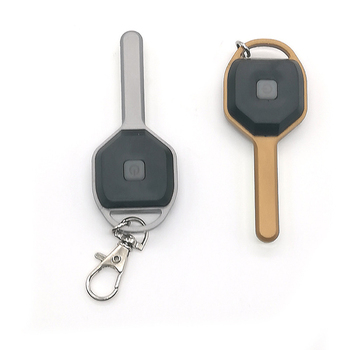 Mini LED Flashlight Keychain Light Portable Key Lanterna Small Torch 2 Modes Outdoor Glare USB Rechargeable