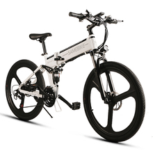 Lixada 26 Inch Folding Electric Bike Power Assist Electric Bicycle E-Bike Conjoined Rim Scooter 48V 350W Motor Electric Bike
