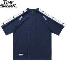 Harajuku T Shirt Men Hip Hop Streetwear Tshirt Sleeve Print  2020 Summer T Shirt Short Sleeve Chinese Character Tops Tees Cotton