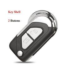 Чехол для автомобильного ключа Kutery для Citroen DS3, пустая Замена ключа с 2 кнопками VA2, чехол для ключа с дистанционным управлением