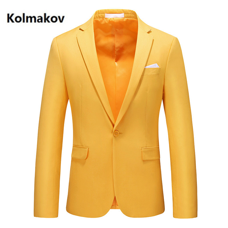 2021 new arrival spring blazers fashion casual blazer men,men's high quality casual jackets size M 6XL