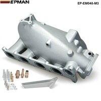 Coletor de admissão de ar de alumínio fundido desempenho para mazda 3 mzr para ford focus duratec 2.0/2.3 motor EP-EM048-M3