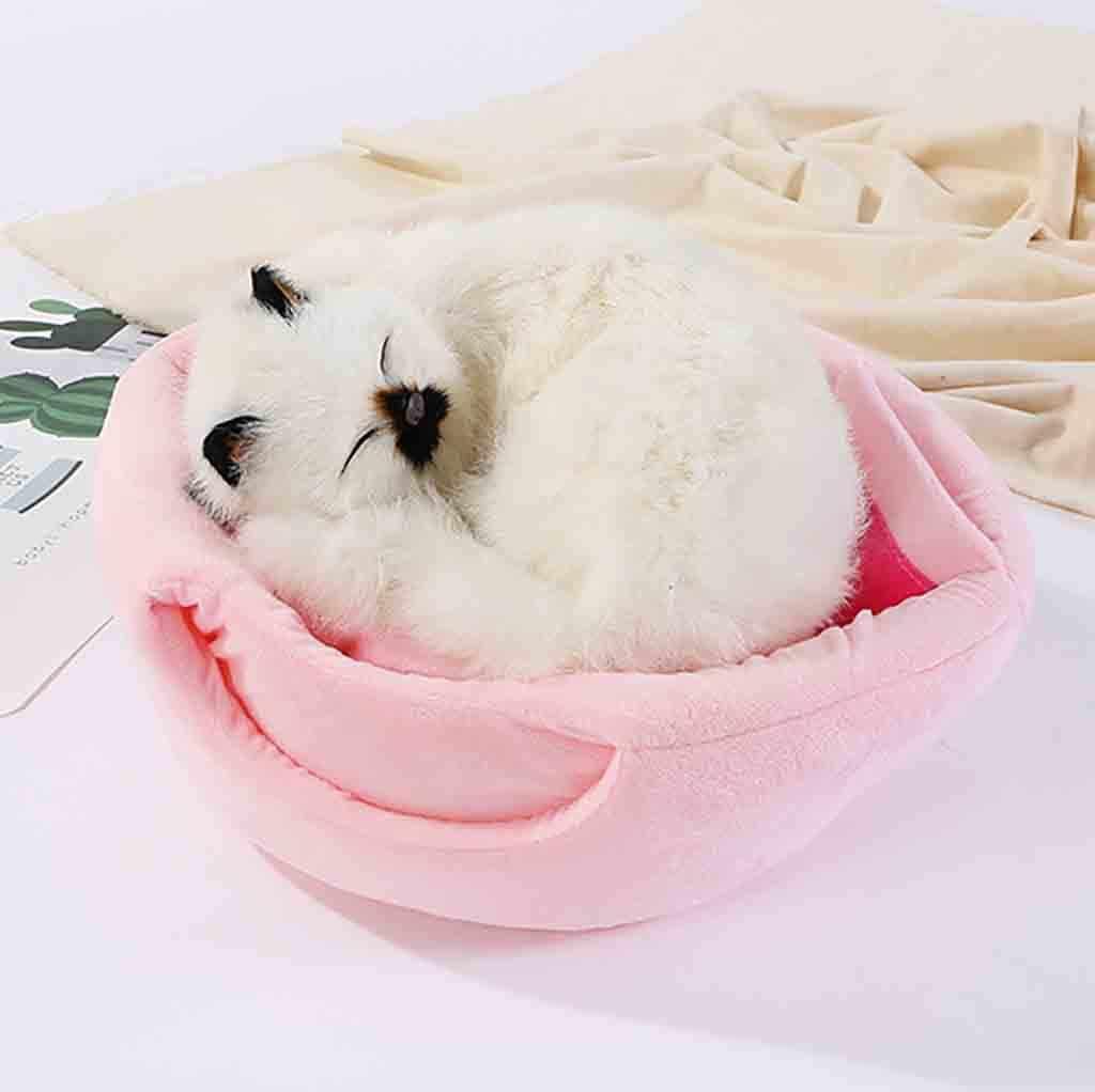 ペット犬猫テント小屋冬暖かいベッドソフト折りたたみ睡眠マットパッド装飾販売アクセサリーツールホーム Dropshippi