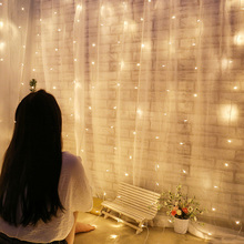 3x1 LED Icicle Fairy Light Christmas indoor EU Plug Garland Curtain Led String Garland Curtain Led String beiaidi 3x0 65m heart shape curtain icicle led string light romantic xmas wedding party window curtain garland indoor lighting