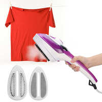 Plancha de vapor eléctrica portátil, Mini plancha de ropa portátil, plancha humeante para ropa, enchufe europeo de 220-240V, electrodomésticos