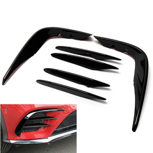 Lamp-Cover Class-X253 Mercedes-Benz Trim Front-Bumper-Fender Airvent-Splitter Carbon-Fiber-Look