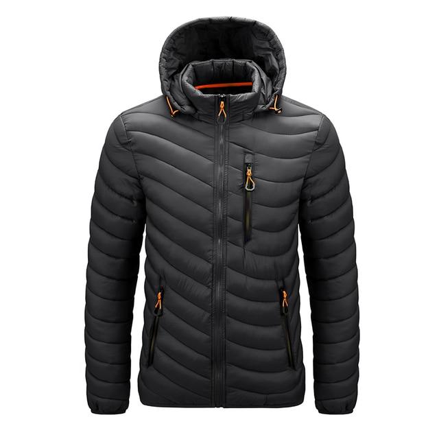 Warm Jacket Men Windbreaker 2021 Latest New Spring Autumn Hooded Soft Parkas Men's Fashion Casual High Quality Jacket Coat Male 4
