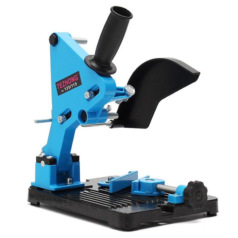 Support de meuleuse d'angle Double Support de palier pour 115-125 Support de Support de coupe d'angle Support de Base en fonte Dock
