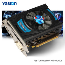 Graphics-Cards Yeston Radeon Rx 550 Computer Pc-Video Gaming Desktop GDDR5 DVI-D/HDMI