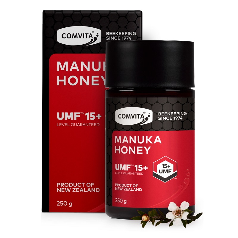 AUTHENTIC New Zealand Comvita Manuka Honey UMF15+ MGO514+ 250g for Digestive Immune Health Respiratory System Cough Sore Throat