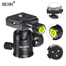 Camera Ball Head Video Dslr Statiefkop Mount Mini Balhoofd 360 Graden Roterende Panoramisch Hoofd Voor Statief Dslr Camera(China)