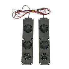 JABS 1 Paar 8 OHM 10W DIY LCD TV Lautsprecher mit Schwere Bass Wirkung Vollständige Palette Werbung TV Lautsprecher reparatur Zubehör