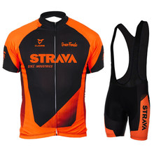 2021 STRAVA conjunto Jersey Ciclismo MTB bicicleta ropa de hombre deportes ropa de bicicleta parágrafo uniforme calções traje Culotte