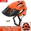 BATFOX Homens Capacete Da Bicicleta Capacete de Mountain Bike XC TRAIL MTB Ultraleve Capacete Estrada Integ-Moldado cruz Ciclo Ciclismo BMX capacete 9
