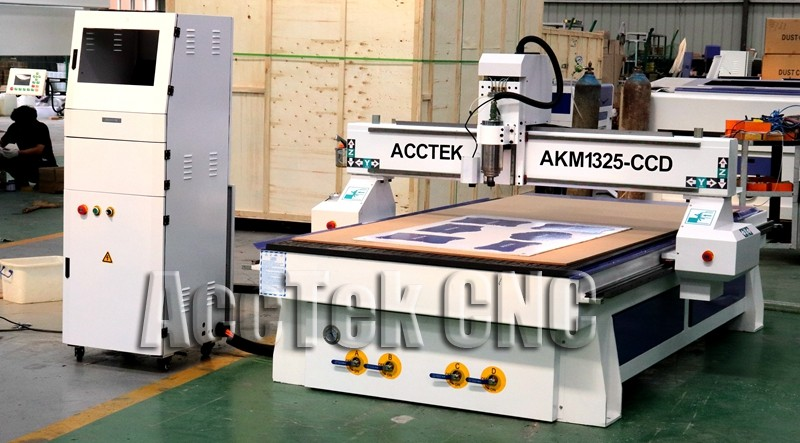 CCD Camera CNC Router For Polystyrene Board KT Sheet Cutting Cnc Router Machine Pcb Cnc