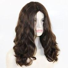 180% bardzo gruba i pełna Sheitels koszerna peruka skóry jedwabiu Top europejskiej Remy ludzki włos żydowski peruki naturalne czarny brązowy kolor