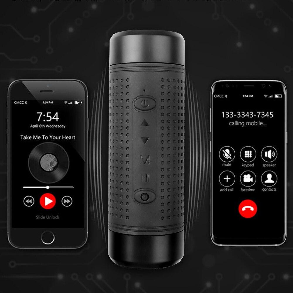 Уличный Bluetooth динамик JAKCOM OS2 водонепроницаемый внешний аккумулятор 5200 мАч, велосипедный портативный сабвуфер, басовая колонка, светодиодны...