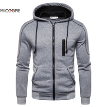 Miicoopie 2019 Mens Hoodies Solid Pullover Outdoor Street Wear Hoodie Sweatshirt