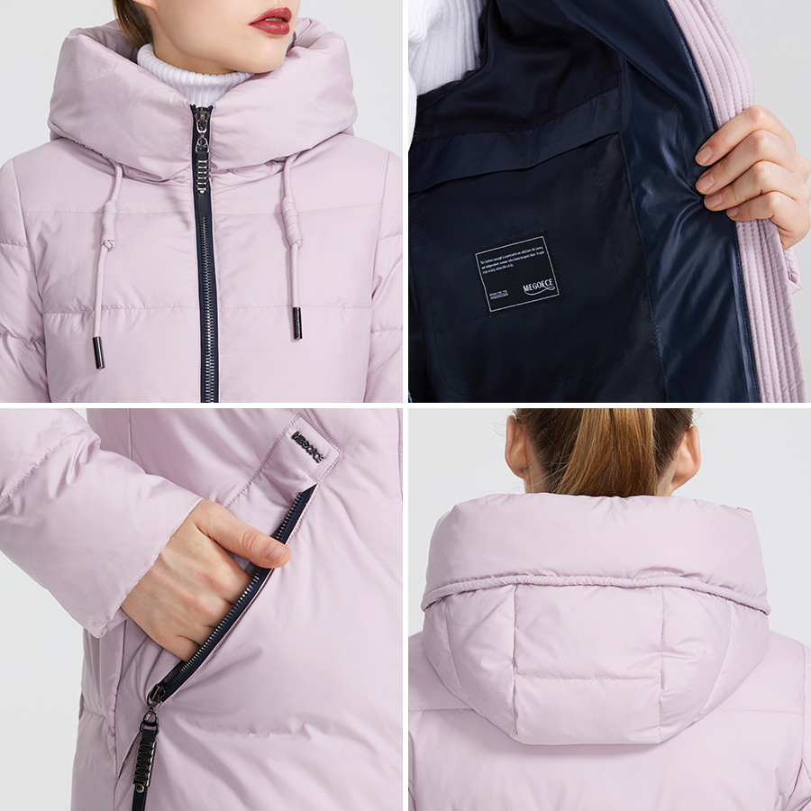 MIEGOFCE 2019 Winter Women Collection Women s Warm Jacket Made With Real Bio Winter Jackets Windproof