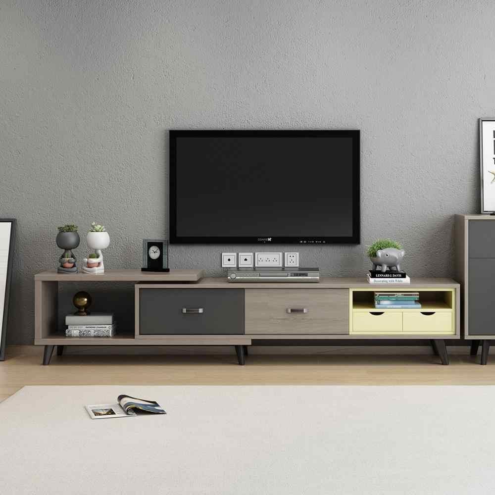 tv table basse de salon coffee stand meubles tv mebel monitor stand aparador konsol mebel eat edge ark wooden