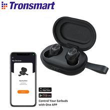Tronsmart spunky Beat tws sem fio fone de ouvido aptx bluetooth fones de ouvido com qualcommchip, cvc 8.0, controle de toque/app