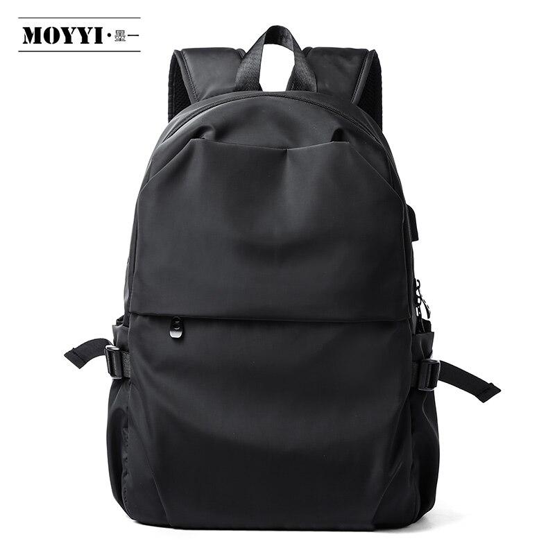 MOYYI Anti-thief Men Backpack Waterproof Laptop Bags USB Charging Pack Luggage Backpacks Super Lightweight School Bags