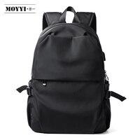 MOYYI Anti thief Men Backpack Waterproof Laptop Bags USB Charging Pack Luggage Backpacks Super Lightweight School Bags