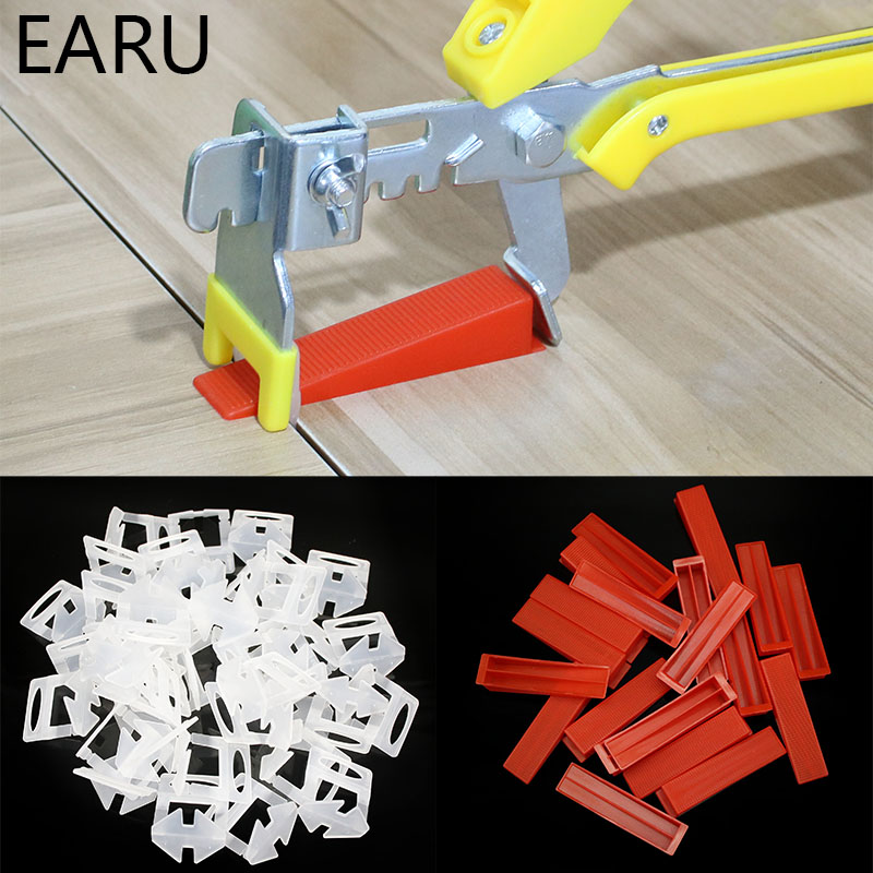 Free Shipping Hand Tool Pliers Disposable Plastic Bases Plastic Wedges Tile Locator Leveling System Tiling Installation Tool