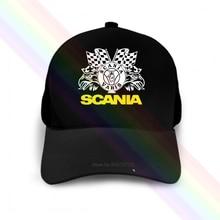 Hats Baseball-Cap Eagle-Flag-Logo Saab Scania Black Popular Newest Unisex Classic