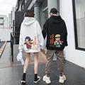 Harajuku Sweatshirt Hinata Couple wear Hoodies Unisex Casual Japanese Anime Printed Men's HoodieS Male Streetwear Fashion tops