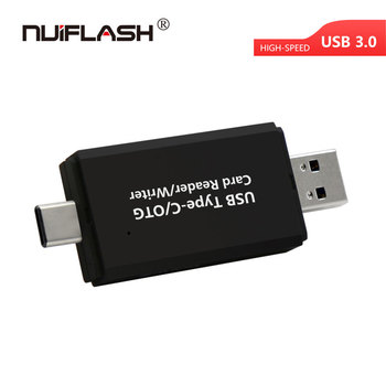 3 in 1 Card Reader USB 3.0 Micro- Type C to Sd Micro- Sd Tf Adapter Smart Memory Sd Otg Card Reader for Phone Laptop