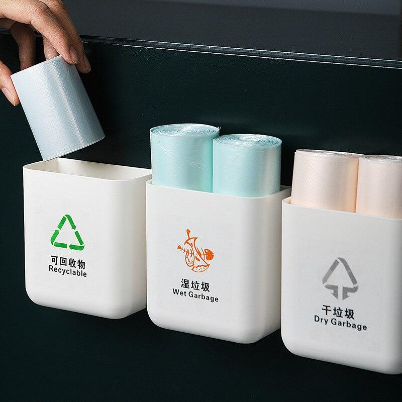 3 шт/комплект сортировочные мешки для мусора контейнеры хранения