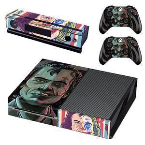 Image 4 - DC Film Die Joker Haut Aufkleber Aufkleber Volle Abdeckung Für Xbox Einer Konsole & Kinect & 2 Controller Für Xbox eine Haut Aufkleber