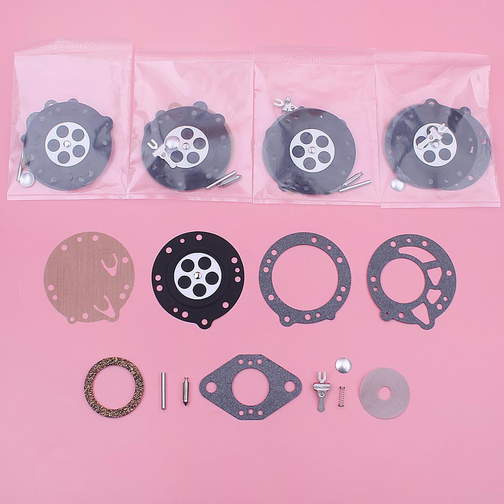 5pcs/lot Carburetor Rebuild Repair Diaphragm Kit For Stihl 08 08S 070 090 TS350 TS360 Zama RB-42 Carb