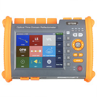 OTDR Fiber cable obstacle detector 1310/1550nm Fiber OTDR Optical Time Domain Reflectometer SM 32/30dB with VFL OPM Light Source