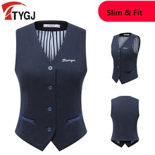 PGM, женская жилетка для похудения, жилетка для гольфа, без рукавов, английский стиль, жилет на пуговицах спереди, v-образный вырез, жилетка, куртки для гольфа, спортивная одежда, D0801