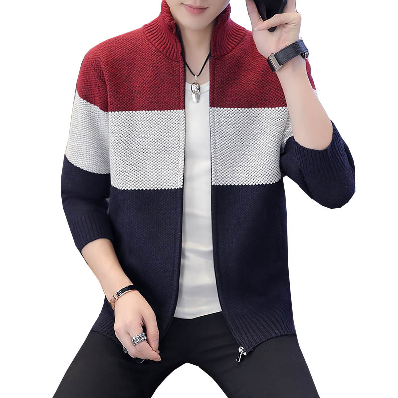 New Arrival Thick Sweater Men Famous Brand Clothing Men Cardigans Male Casual Zipper Sweaters Male Christmas Sweater