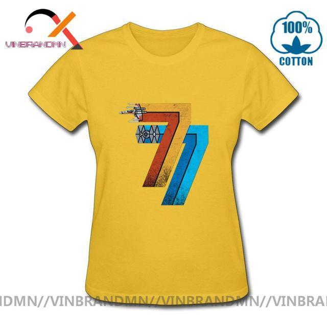 70s 80s w stylu Retro z gwiazdą odzież marki Vintage 25 maja 1977 T shirt kobiety Streetwear JEDI Wars T-shirt 2020 nowy projekt urban apparel