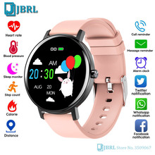 Nowy inteligentny zegarek dla dzieci Smartwatch dla dzieci dla dziewczynek chłopcy elektronika inteligentny zegar w pełni dotykowy Bluetooth smart-zegarek dla Andriod Ios tanie tanio JBRL CN (pochodzenie) Android OS Na nadgarstku Wszystko kompatybilny 128 MB Passometer Fitness tracker Uśpienia tracker