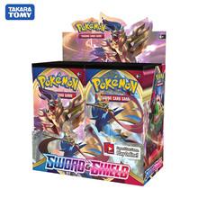2020 najnowszy 324 sztuk kart Pokemon TCG miecz i tarcza Booster Box kolekcjonerska handlowa gra karciana tanie tanio TAKARA TOMY not eat X200 14 Lat i up Chiny certyfikat (3C) Fantasy i sci-fi