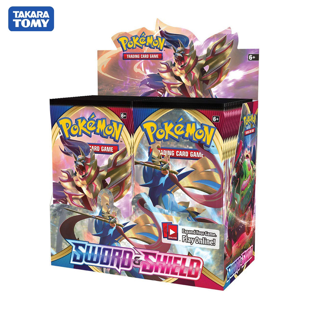 324Pcs/box Pokemon Cards TCG: Sword & Shield Booster Box Collectible Trading Card Game