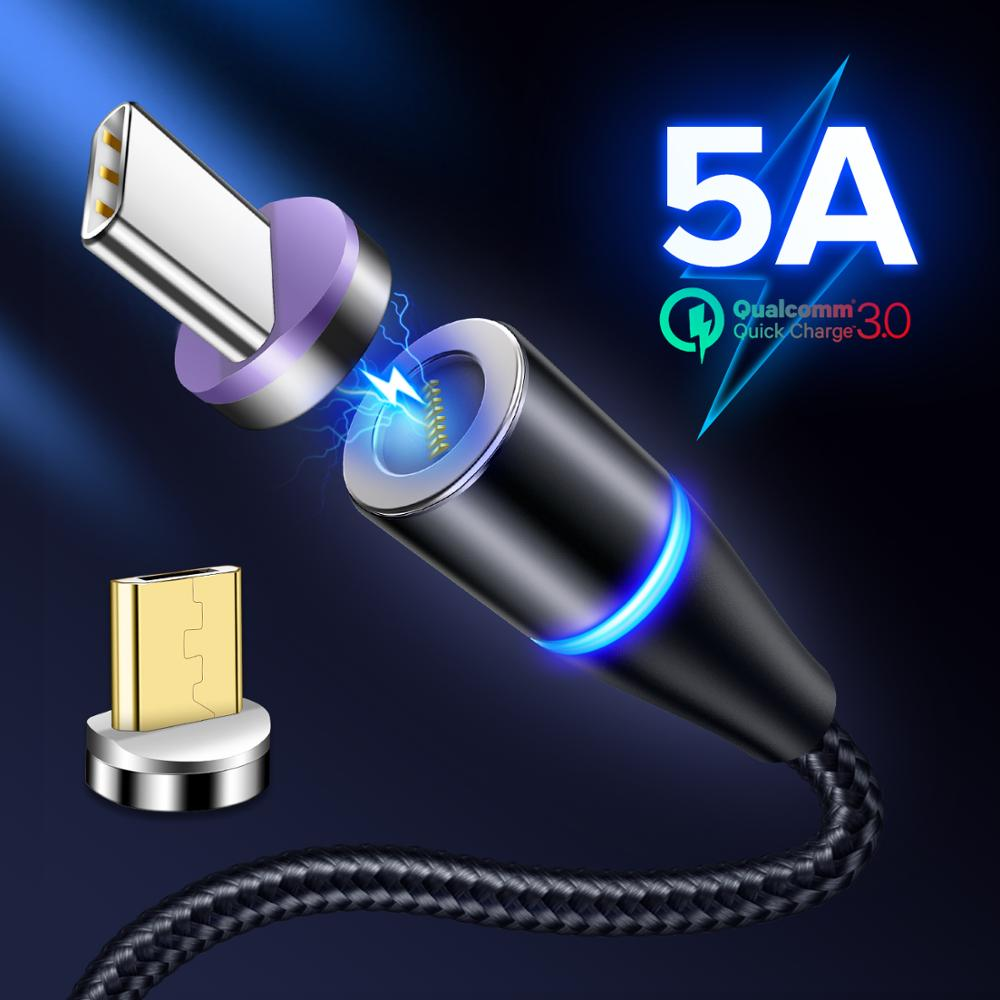 Magnetic Charger USB Type C Cable For Huawei P30 P20 Pro Mate 20 10 9 Honor 20 Magnet Micro USB Type C Fast Charging Phone Cord|Mobile Phone Cables| |  - AliExpress