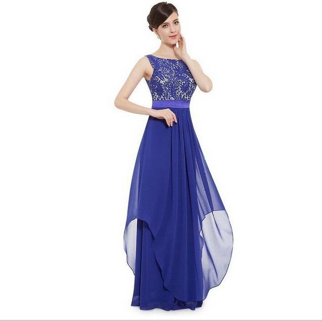 Contact Order 2016 Europe And America New Style WOMEN'S Dress Elegant Long Cocktail Formal Dress Lace Dress 2