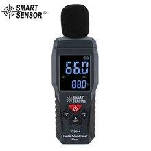 SMART SENSOR ST9604 Digital Sound Level Meters Decibel Meter Logger Noise Detector Digital Diagnostic Tool 30~130dB gm1357 digital lcd sound noise level meter tester 30 130db decibel pressure diagnostic tool mastech