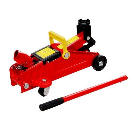 2t jack vérin hydraulique cric horizontal pression d'huile jack voiture jack horizontal 2t vérins de levage