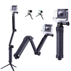 3 Way Grip Waterproof Monopod Selfie Stick Tripod Stand for GoPro Hero 7 6 5 4 Session