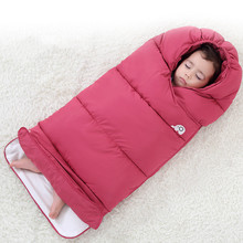 Kaguster Newborn Winter Duvet Cotton  Muslin Swaddle Kids Thickened Blanket Baby Girl Boy Love Pink Toddler Sleeping bag