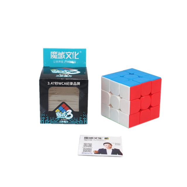 Moyu cubes MOYU meilong 3x3x3 Speed Magic Cube 3x3x3 Puzzle Cubo magico profissional neo cube Educational toys for children 6