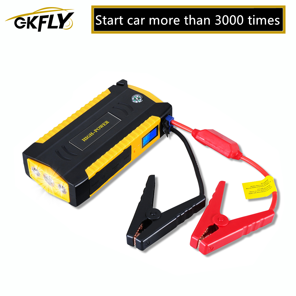GKFLY Charger Starter Power-Bank Auto-Battery-Booster Portable High-Capacity Car 12V title=